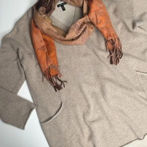 Oversized Cashmere Sweater Eileen Fisher Sz Large